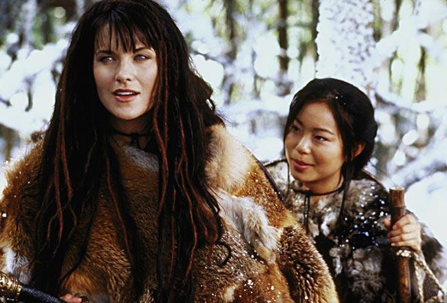 Xena and Akemi