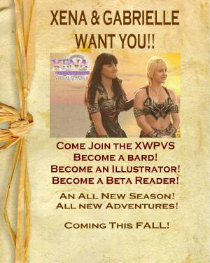 Xena and Gabrielle want YOU!!!